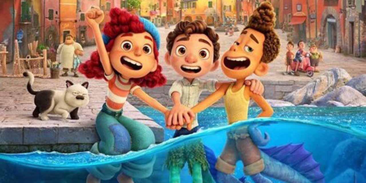 El poder de la amistad es ilustrado por Pixar y su nueva película, Luca | El Imparcial de Oaxaca