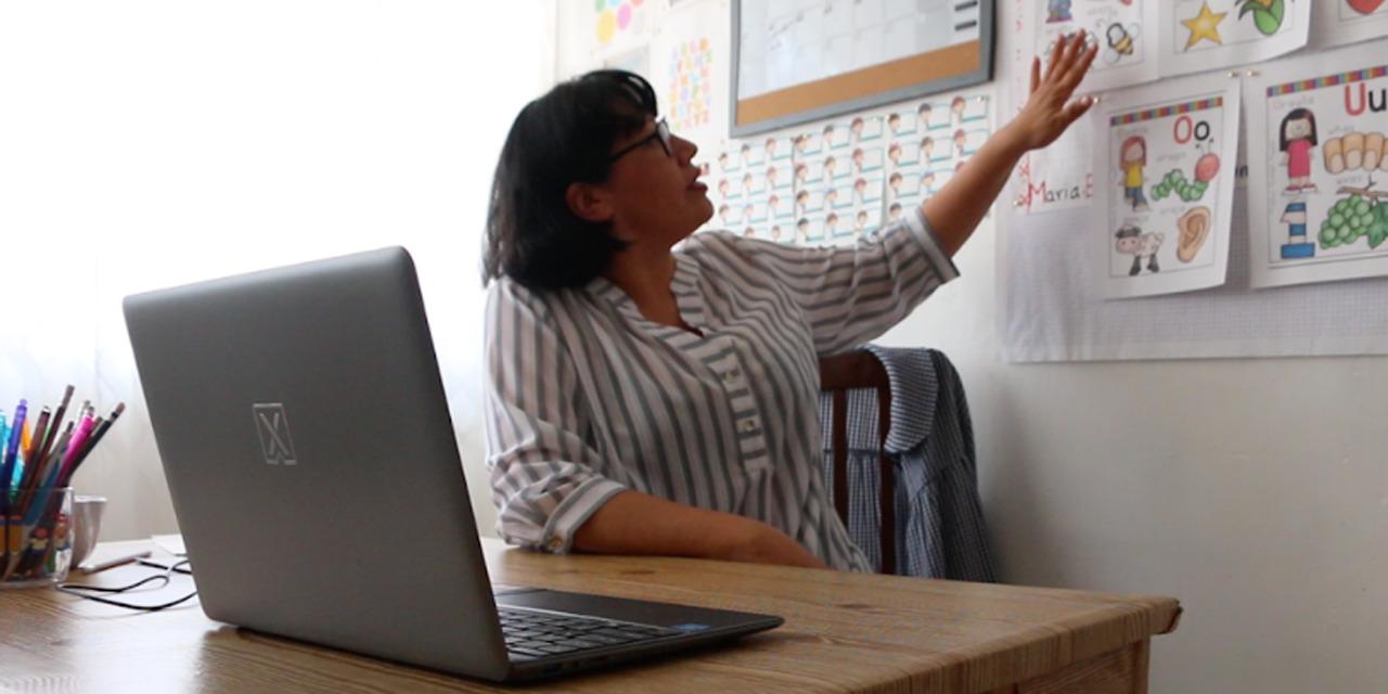 Clases virtuales dañan vista a maestros tras 14 meses   El Imparcial de Oaxaca