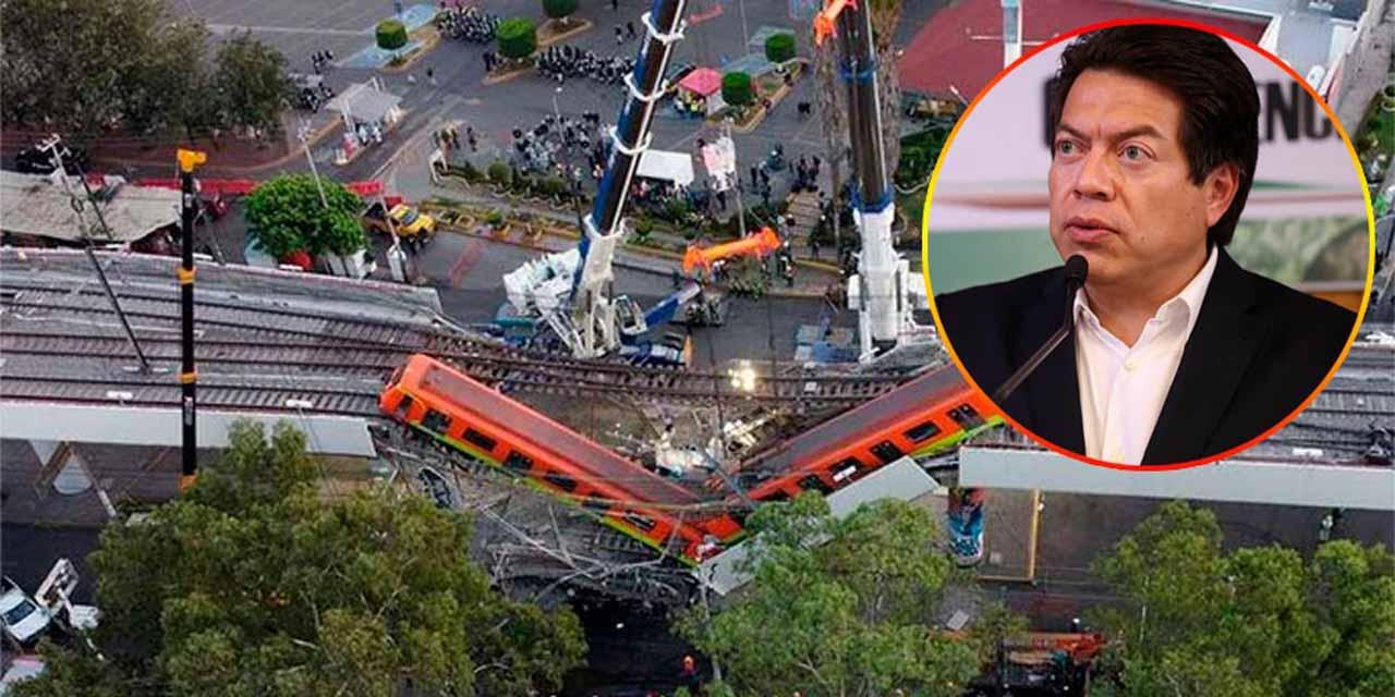 Mario Delgado dice que el accidente de la L12 afecte a Morena | El Imparcial de Oaxaca