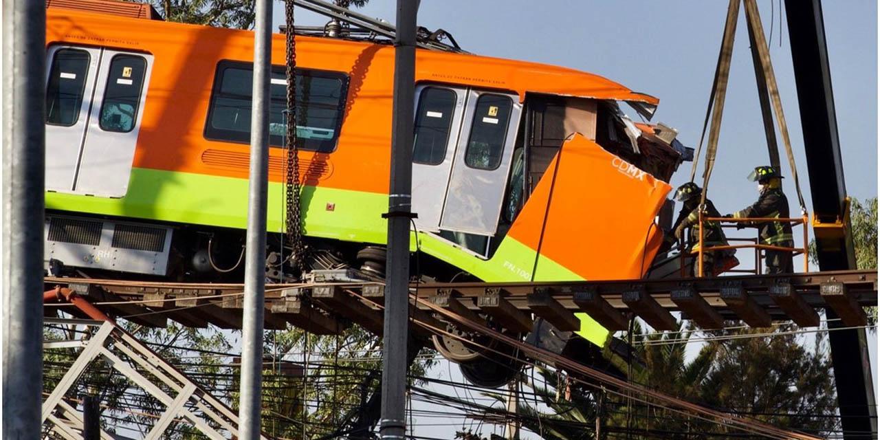 Tras accidente en la Línea 12 del metro aún hay 4 cuerpos dentro del tren | El Imparcial de Oaxaca