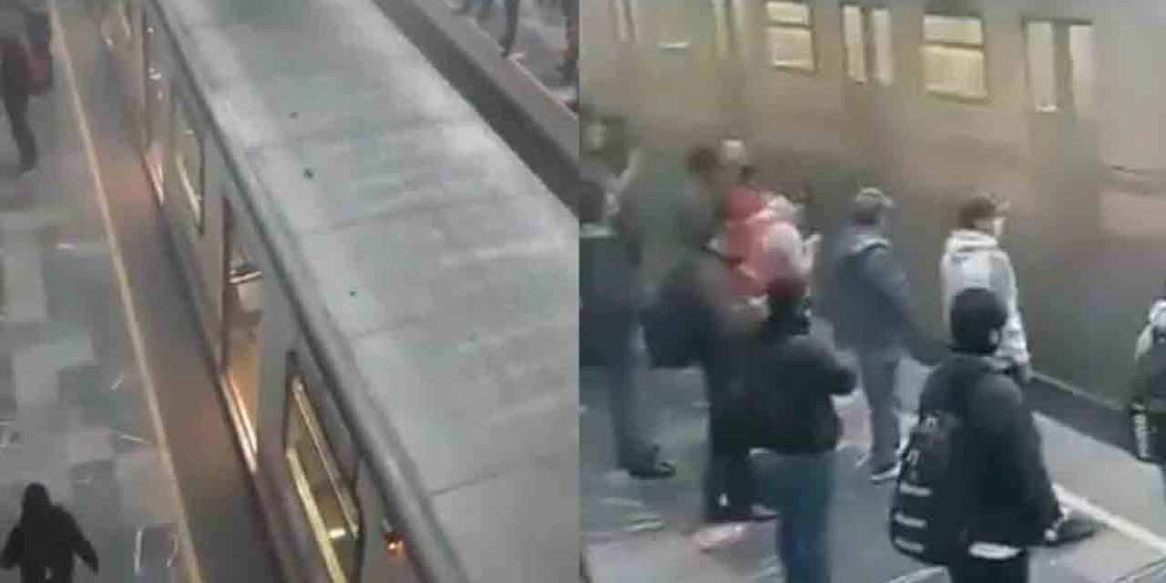 Vídeo: Nuevo incidente en el metro, ahora es en la línea A   El Imparcial de Oaxaca