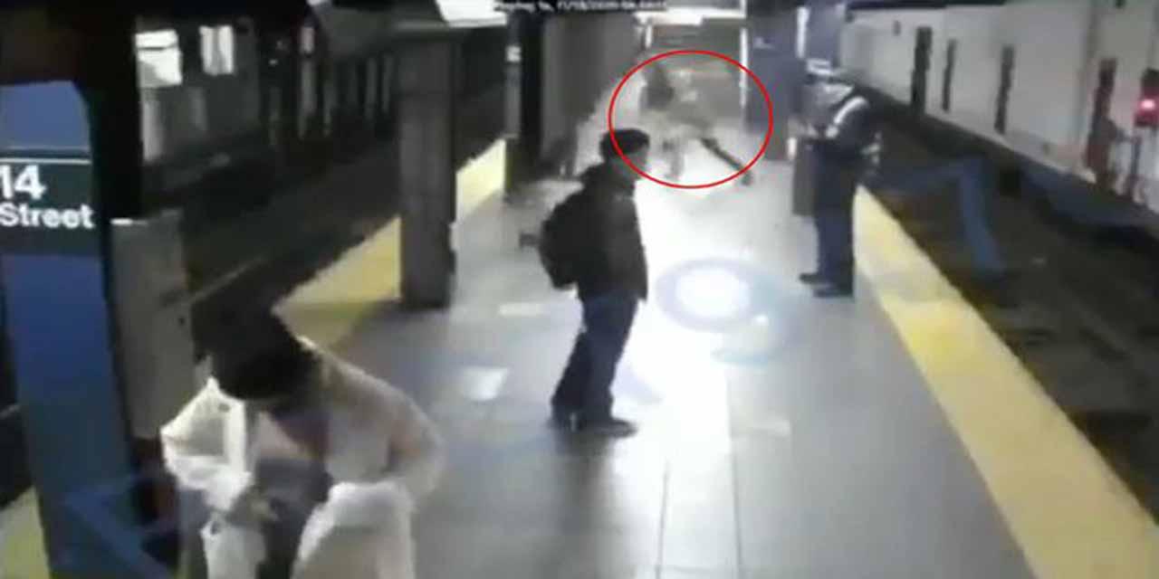 En el metro de NY hombre salva a mujer de ser acuchillada | El Imparcial de Oaxaca