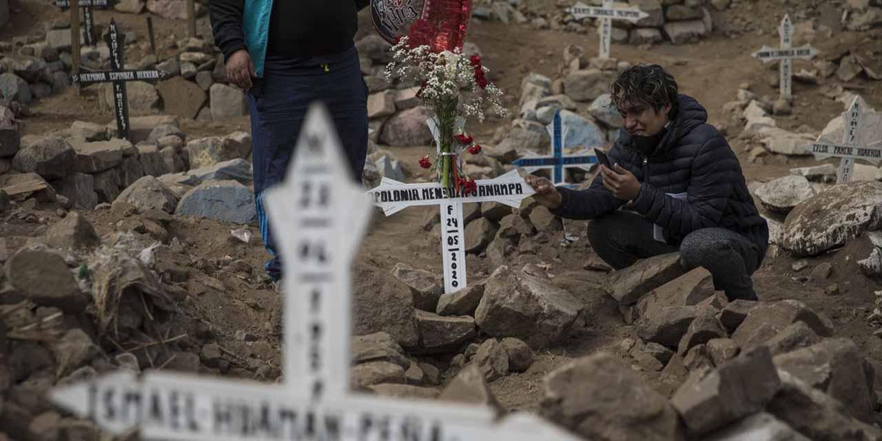 Perú tiene la mayor tasa de mortalidad del mundo por covid | El Imparcial de Oaxaca
