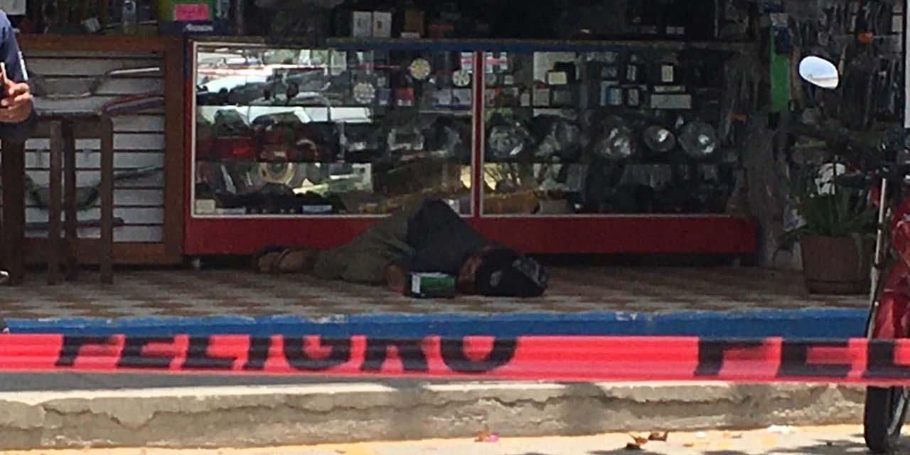 Sangriento sábado en Pinotepa Nacional: ejecutan a tres personas en menos de una hora