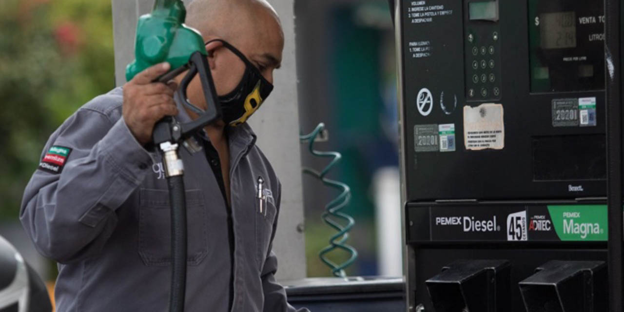 Precio de gasolina magna casi en 22 por litro, revela la Profeco | El Imparcial de Oaxaca