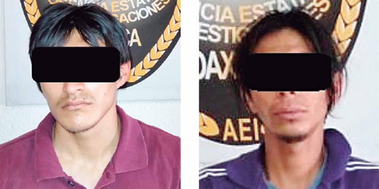 Caen presuntos robamotos   El Imparcial de Oaxaca