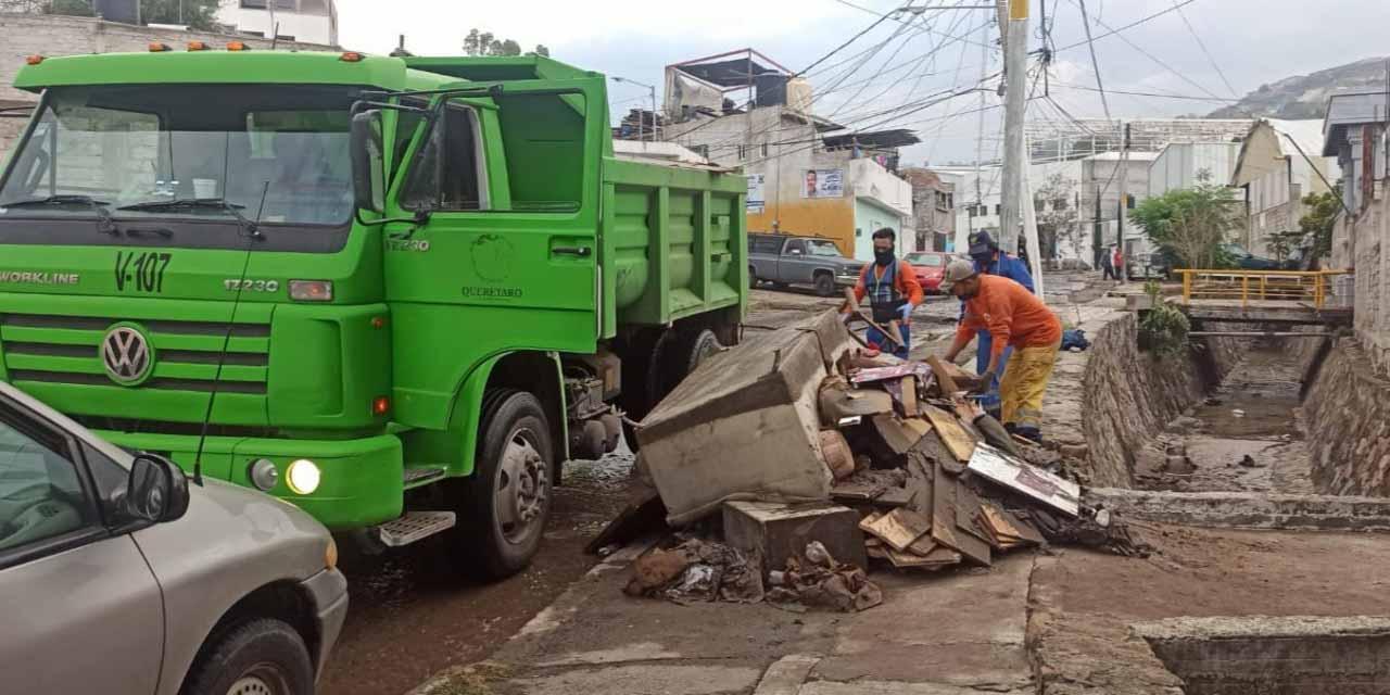 Querétaro sufre derrumbes y daños en casas tras lluvias | El Imparcial de Oaxaca
