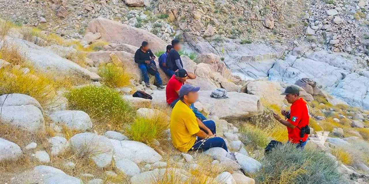 Migrante es rescatado de La Rumorosa por Grupos Beta   El Imparcial de Oaxaca