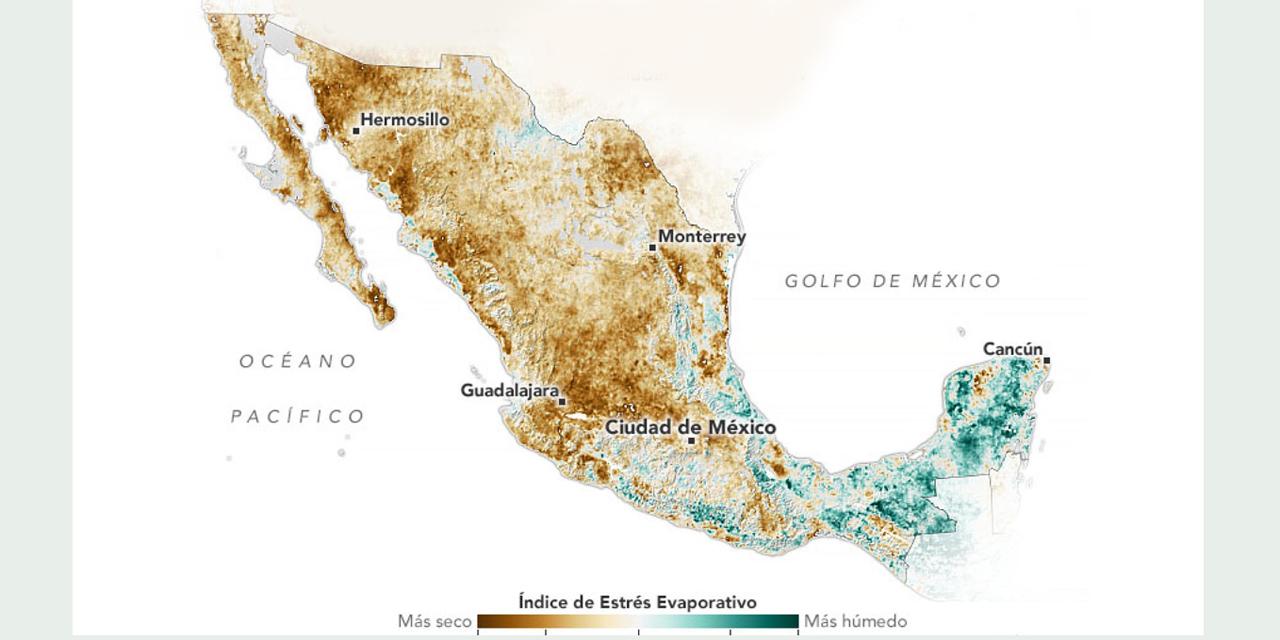 Sequía deshidrata a México, aquí te decimos cómo cuidar el agua | El Imparcial de Oaxaca