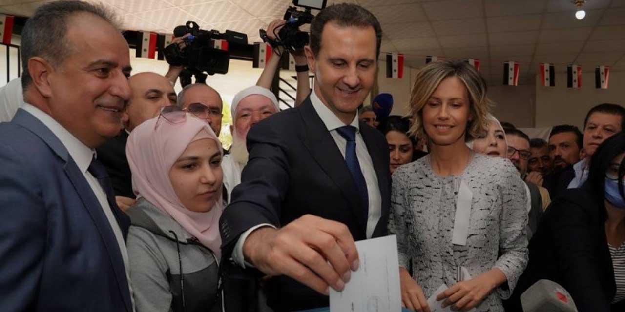 En Siria realizan elecciones presidenciales; Assad va por el cuarto mandato | El Imparcial de Oaxaca