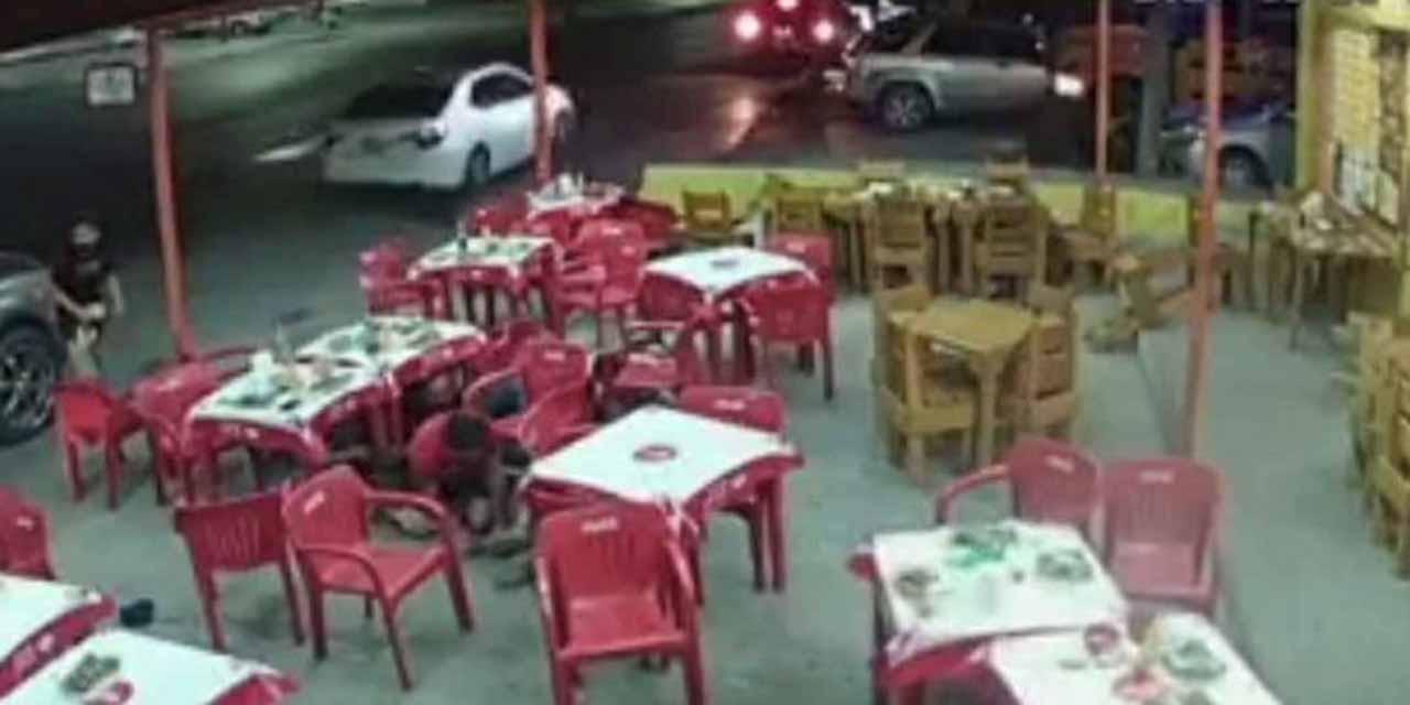 Video: Balacera en taquería de Reynosa; comensales buscan refugios | El Imparcial de Oaxaca