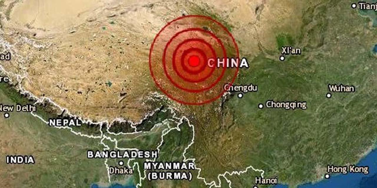 En China continua temblando: Sismo de 7.4 de magnitud sacude Qinghai | El Imparcial de Oaxaca