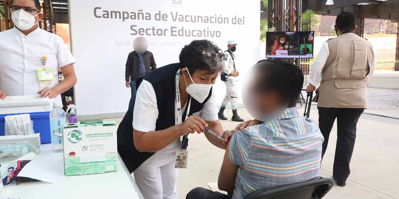 Las clases presenciales iniciarán al concluir la inmunización del personal educativo: SEP | El Imparcial de Oaxaca