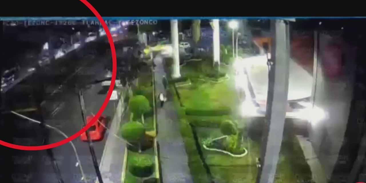 Video: sale a la luz video del accidente en Línea 12 del Metro | El Imparcial de Oaxaca