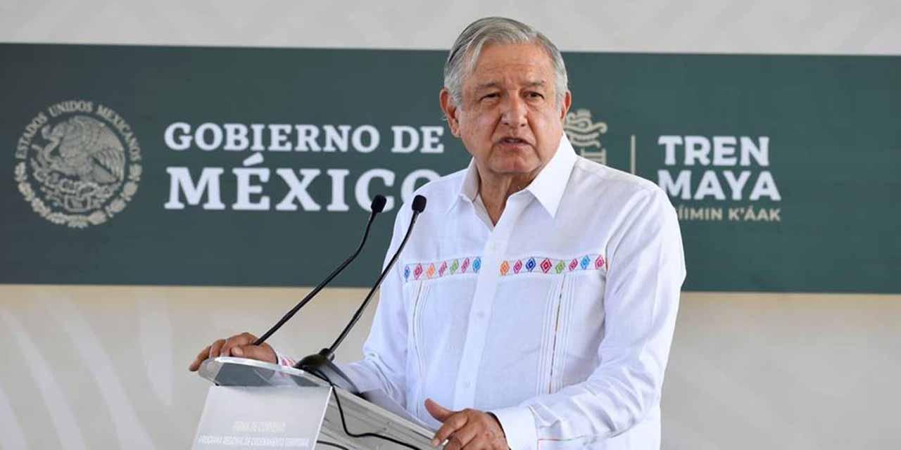AMLO le pide perdón al pueblo maya | El Imparcial de Oaxaca