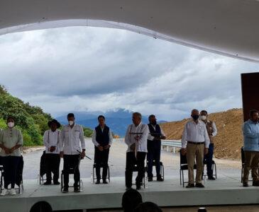 Visita Andrés Manuel López Obrador San Vicente Coatlán