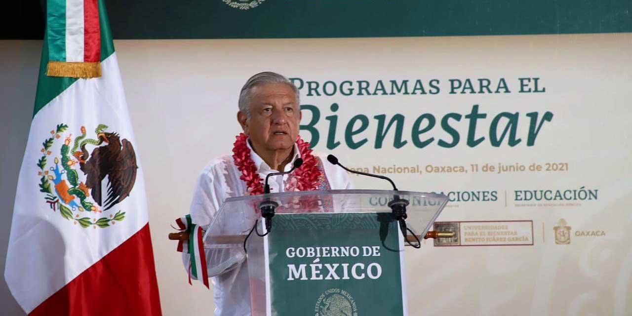 AMLO prevé sacar bandera blanca de vacunación para octubre | El Imparcial de Oaxaca