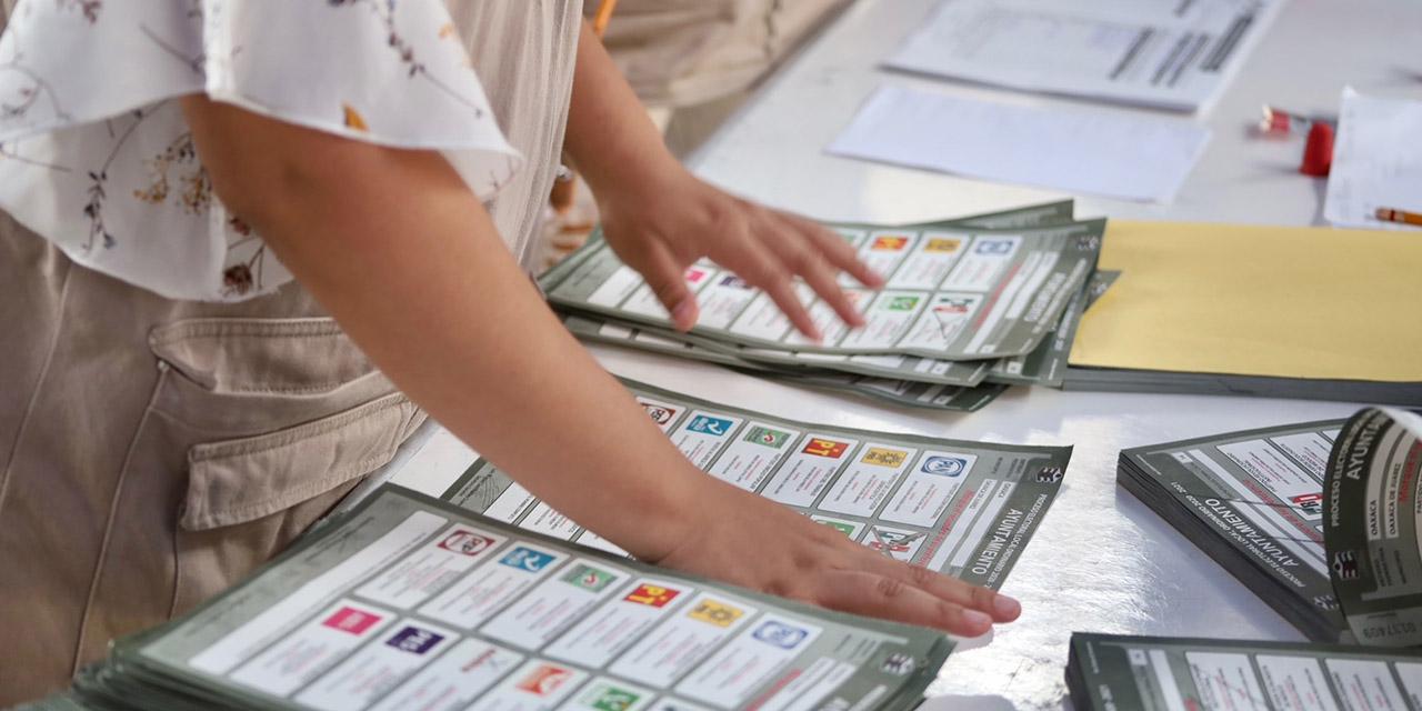 Morena vigila conteo de votos en la capital oaxaqueña | El Imparcial de Oaxaca