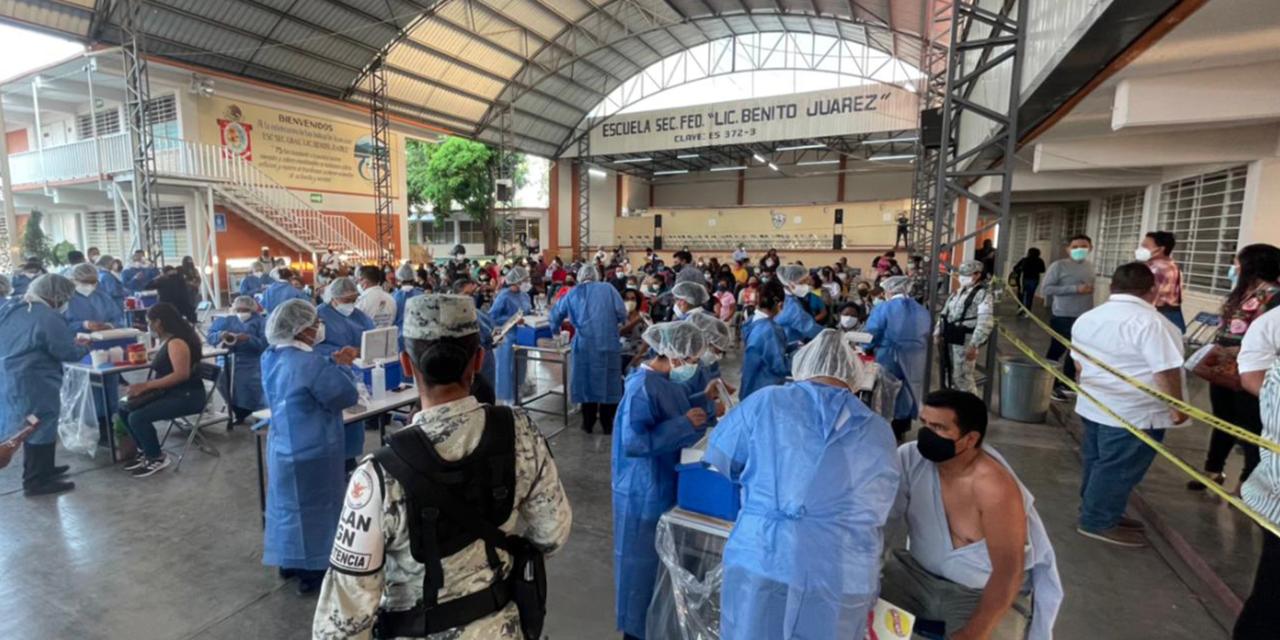 Aplicarán 16 mil vacunas anticovid en la región Mixteca   El Imparcial de Oaxaca