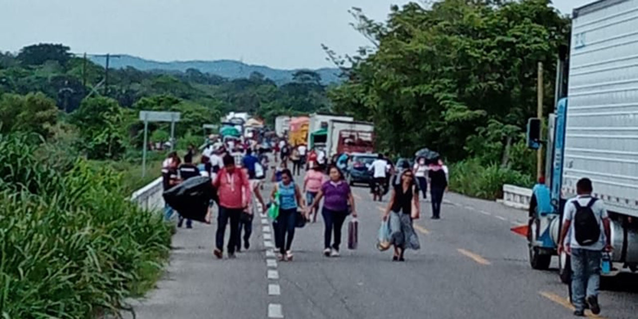 Se movilizan comunidades de la zona norte del Istmo   El Imparcial de Oaxaca