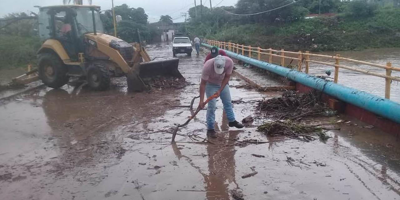 Inician trabajos de limpieza tras desborde de río en Juchitán | El Imparcial de Oaxaca