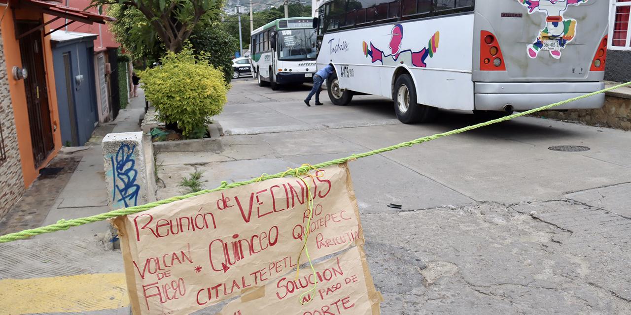 Escala lío vial en Volcanes y Antiguo Aeropuerto   El Imparcial de Oaxaca