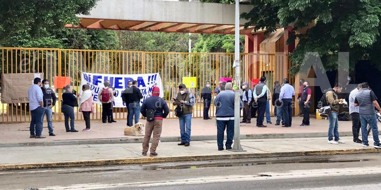 STAUO encabeza la toma de la UABJO, exigen se cumplan acuerdo pactados en meses pasados   El Imparcial de Oaxaca