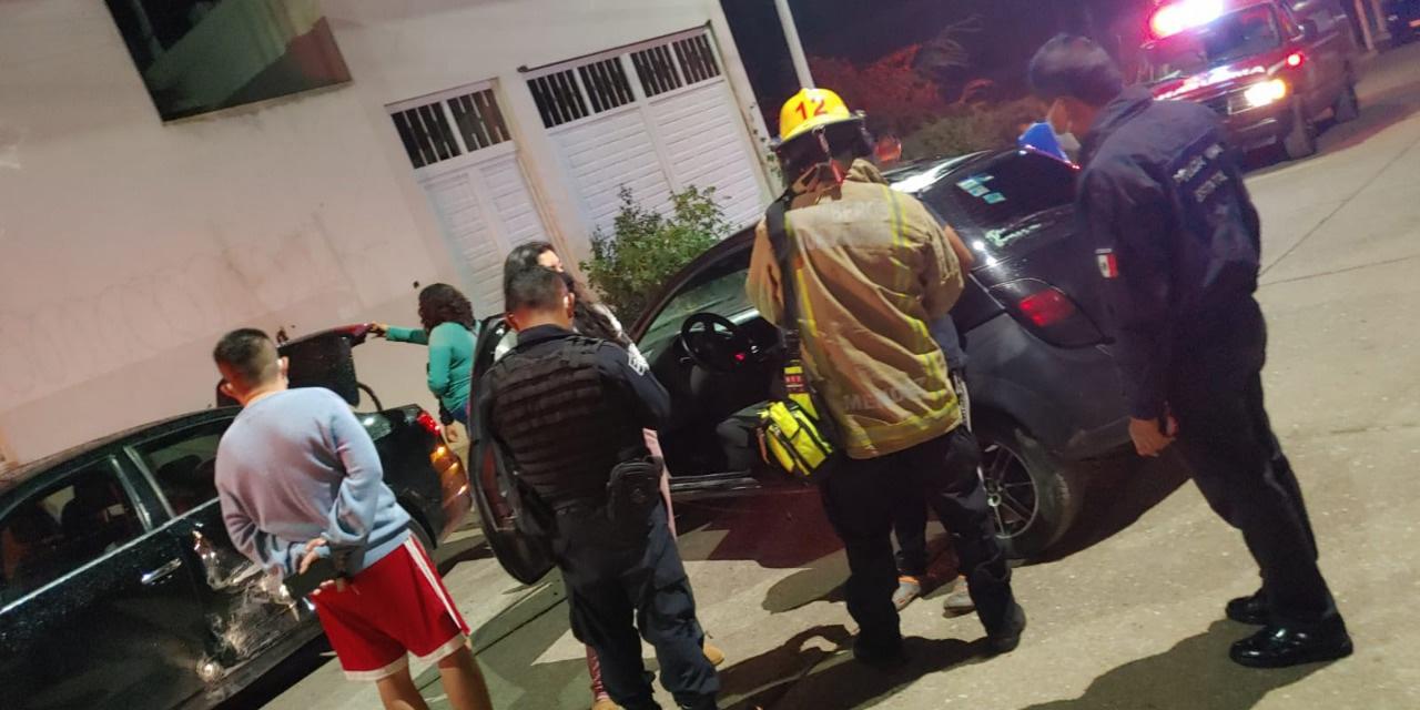 Impacta su auto contra otro en Huajuapan | El Imparcial de Oaxaca