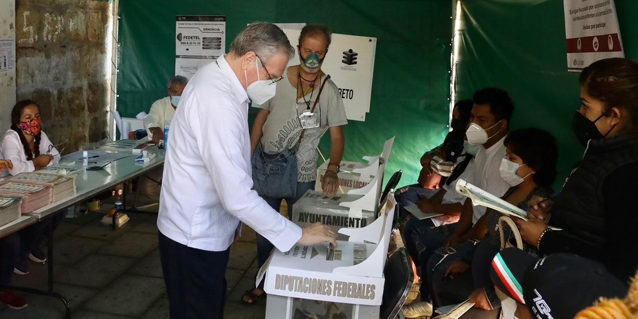 Arzobispo pide vocación de servicio a futuros representantes populares   El Imparcial de Oaxaca