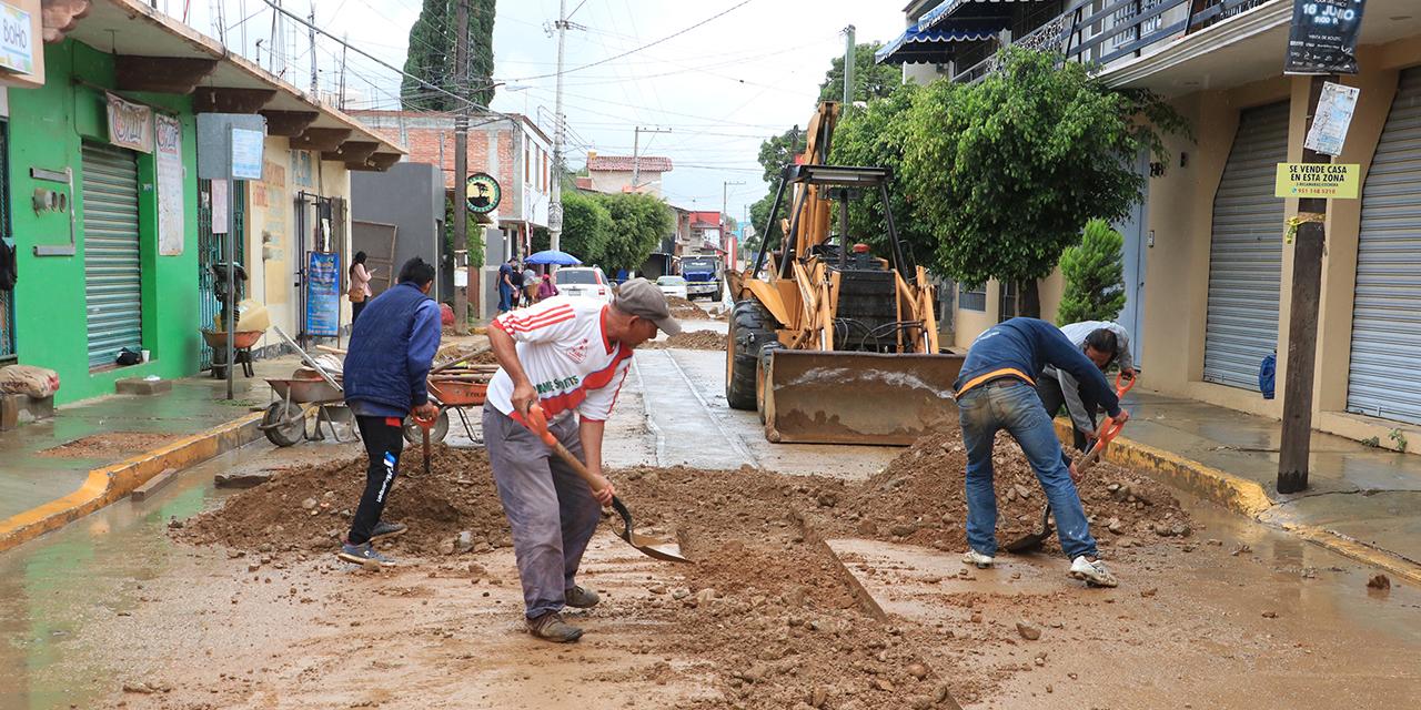 Obra sanitaria, un calvario para Santa Cruz Amilpas   El Imparcial de Oaxaca