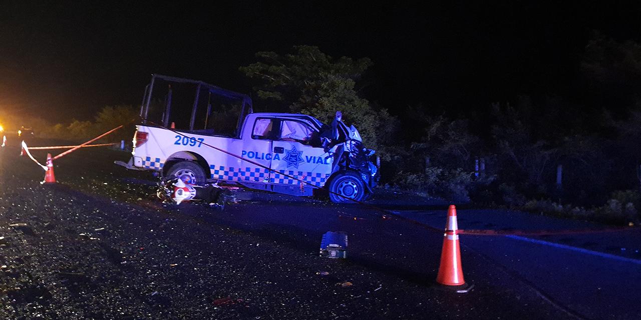 Comandante de la Policía Vial de la región del Istmo muere en accidente carretero | El Imparcial de Oaxaca