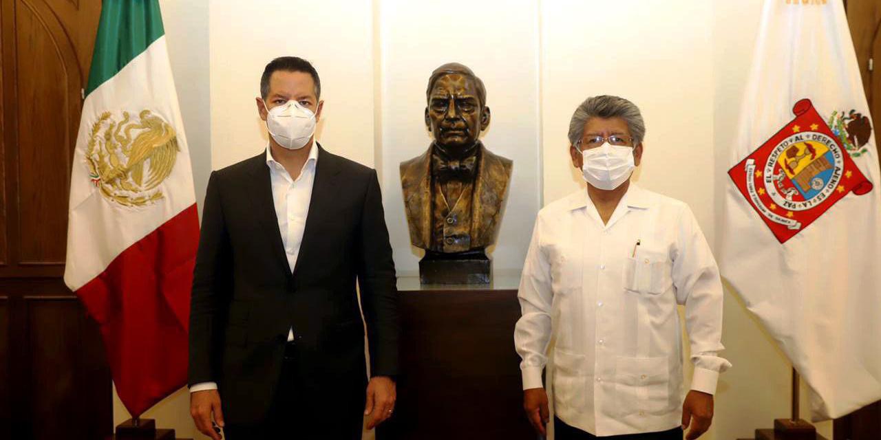 Alejandro Murat y Martínez Neri sostienen primer encuentro | El Imparcial de Oaxaca