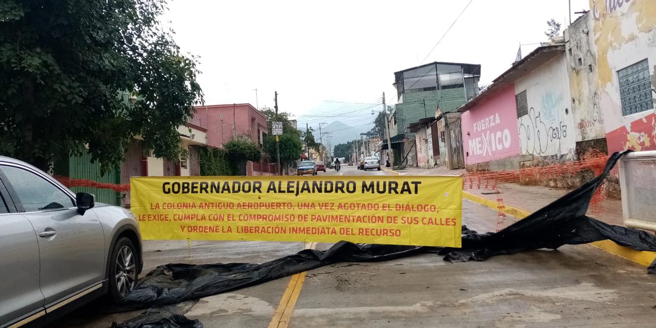 Vecinos de Antiguo Aeropuerto dan ultimátum al gobierno   El Imparcial de Oaxaca