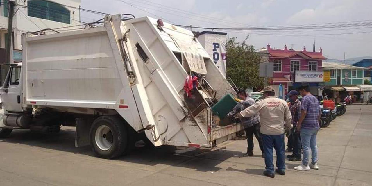 Normalizan servicio de recolección de basura en Huajuapan de León | El Imparcial de Oaxaca