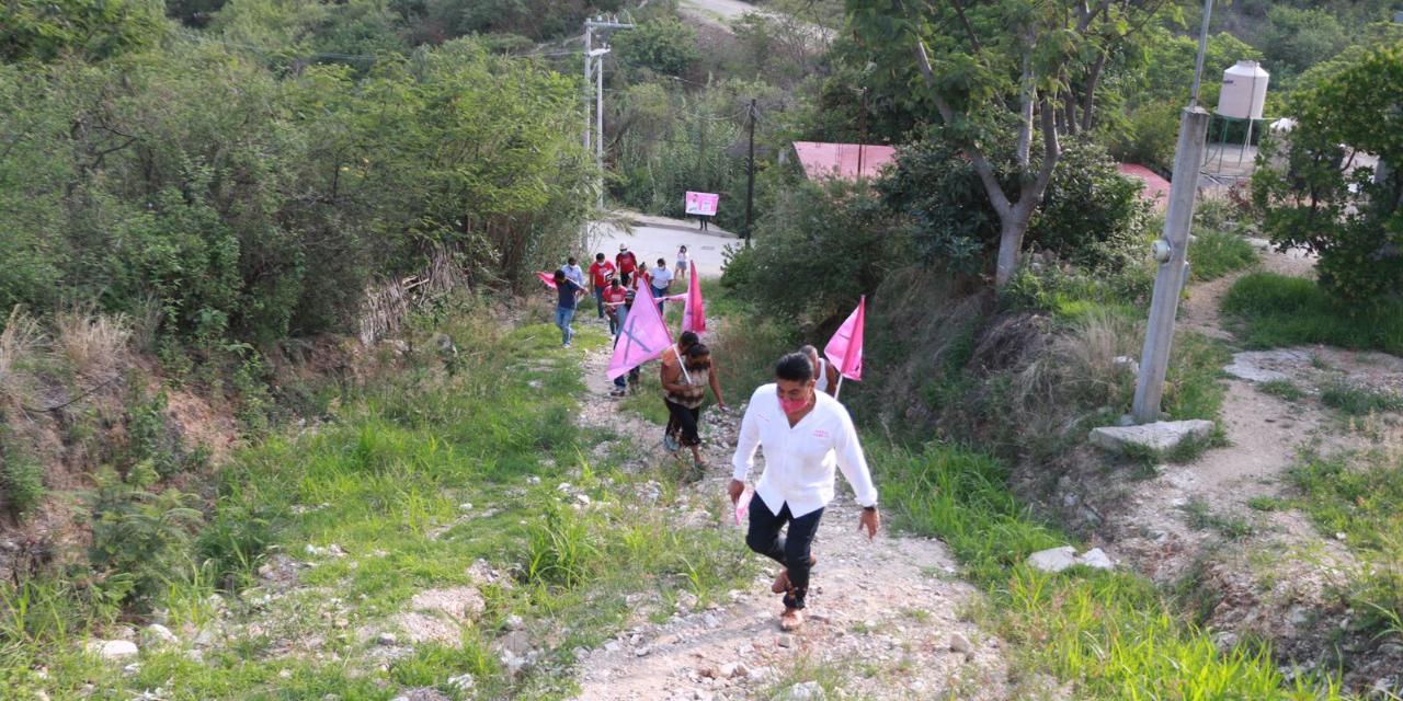 Ruiz Olmedo invita a quienes no se sientan representados a votar por él   El Imparcial de Oaxaca