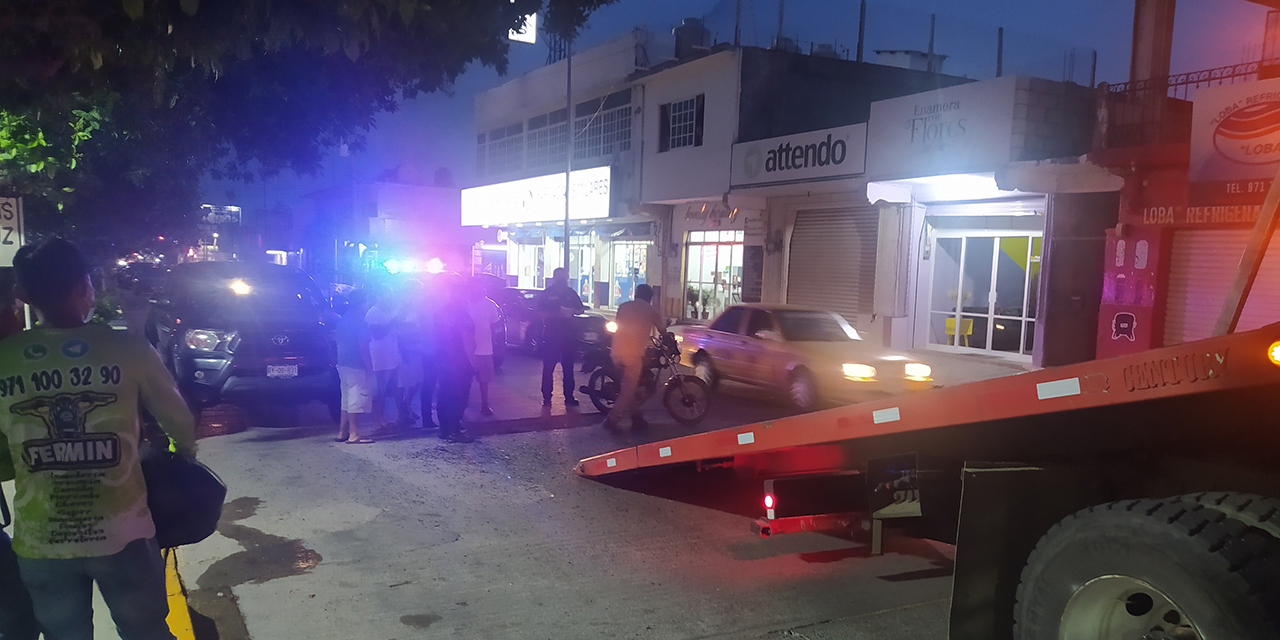 Fuerte choque en Salina Cruz   El Imparcial de Oaxaca