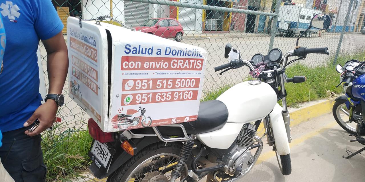 Repartidor es derribado por taxi en Cinco Señores   El Imparcial de Oaxaca