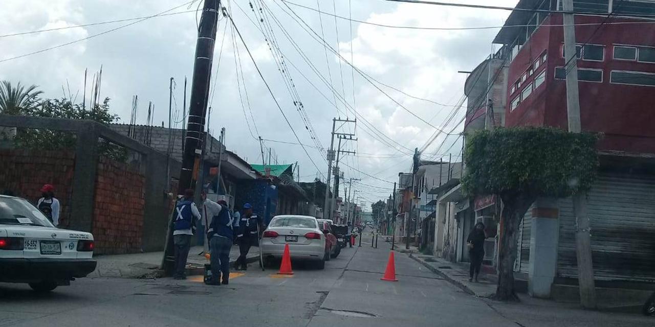 Conductor provoca carambola en Huajuapan   El Imparcial de Oaxaca