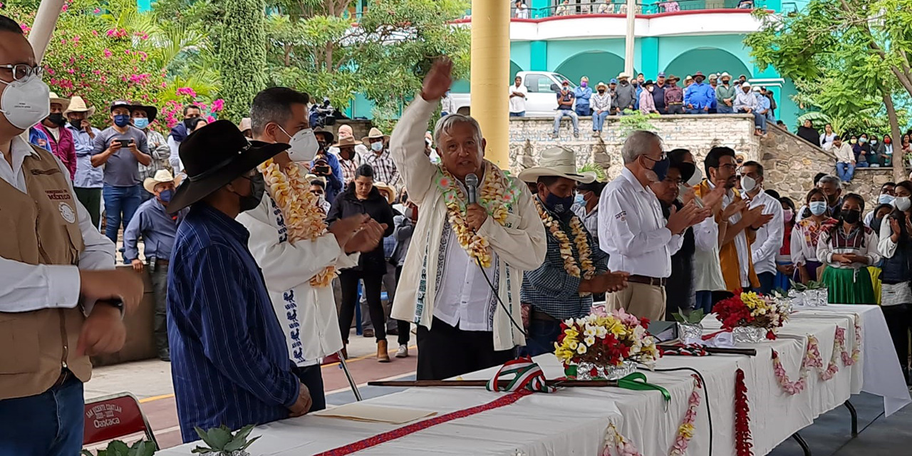 A Murat y Regino, la solución a lío Coatlán-Sola de Vega | El Imparcial de Oaxaca