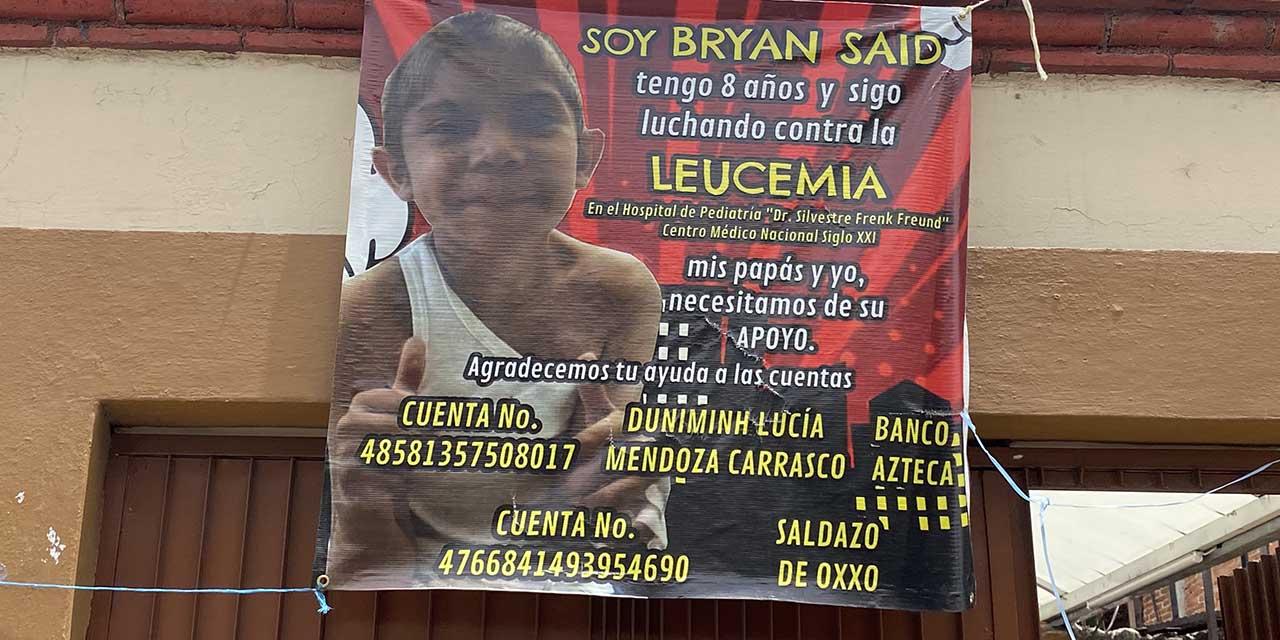 Titánica lucha de Bryan contra la leucemia   El Imparcial de Oaxaca