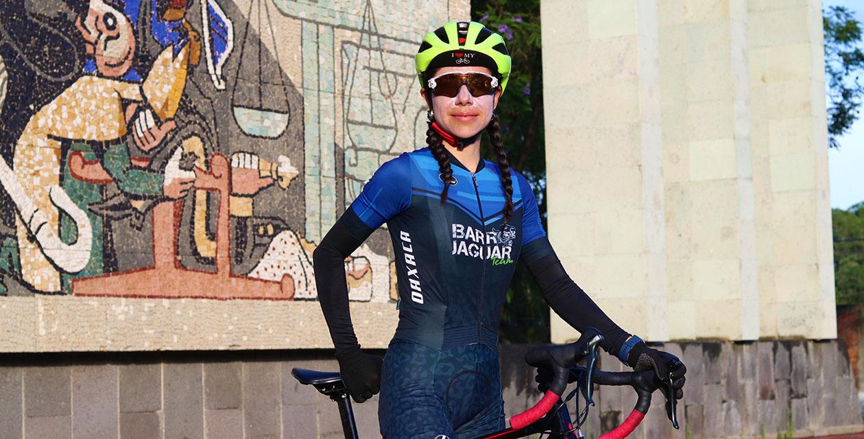 """""""Kiki"""" revelación en el ciclismo"""