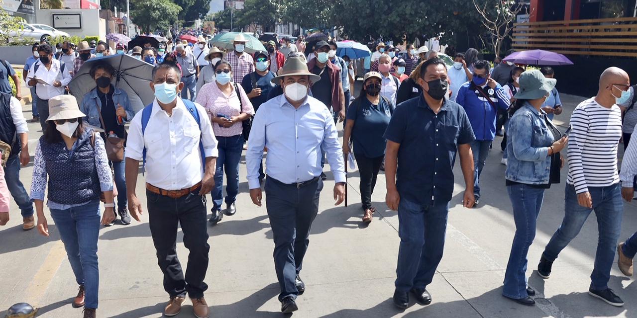 Sección 22 participa en plantón representativo en CDMX | El Imparcial de Oaxaca