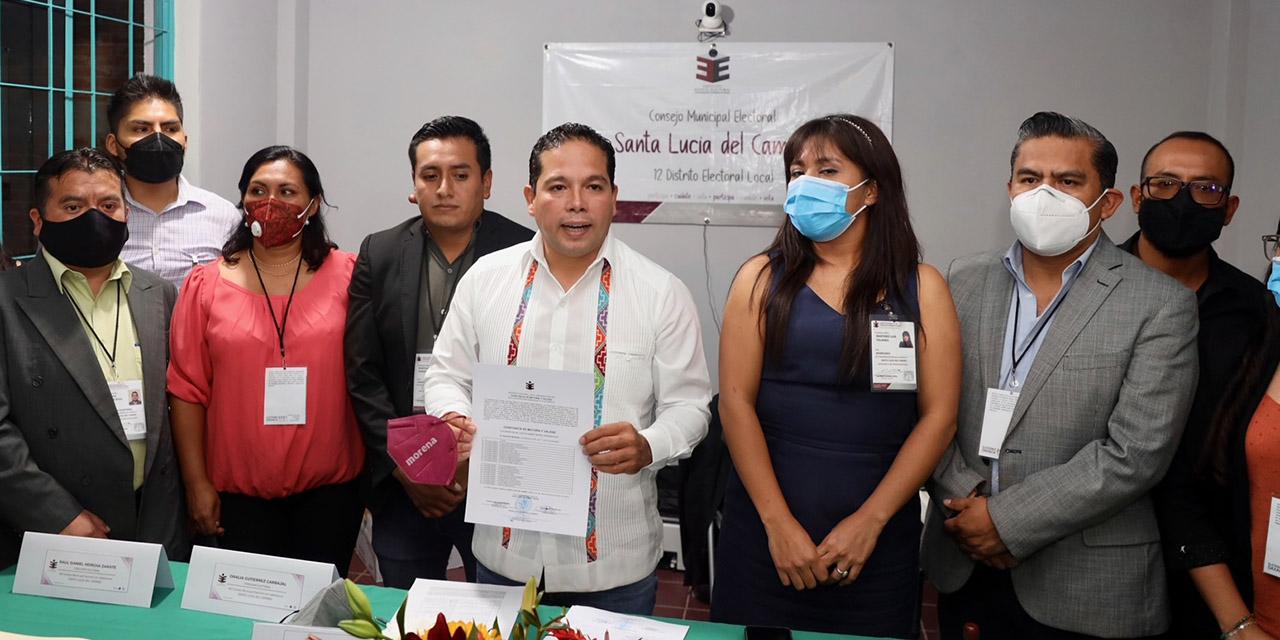 García Márquez, presidente electo de Santa Lucía del Camino | El Imparcial de Oaxaca