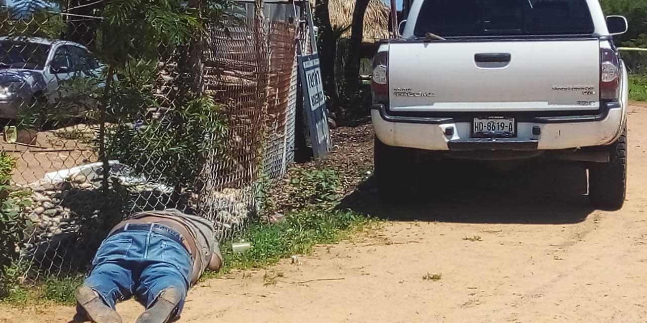 Ejecutado en Pochutla | El Imparcial de Oaxaca