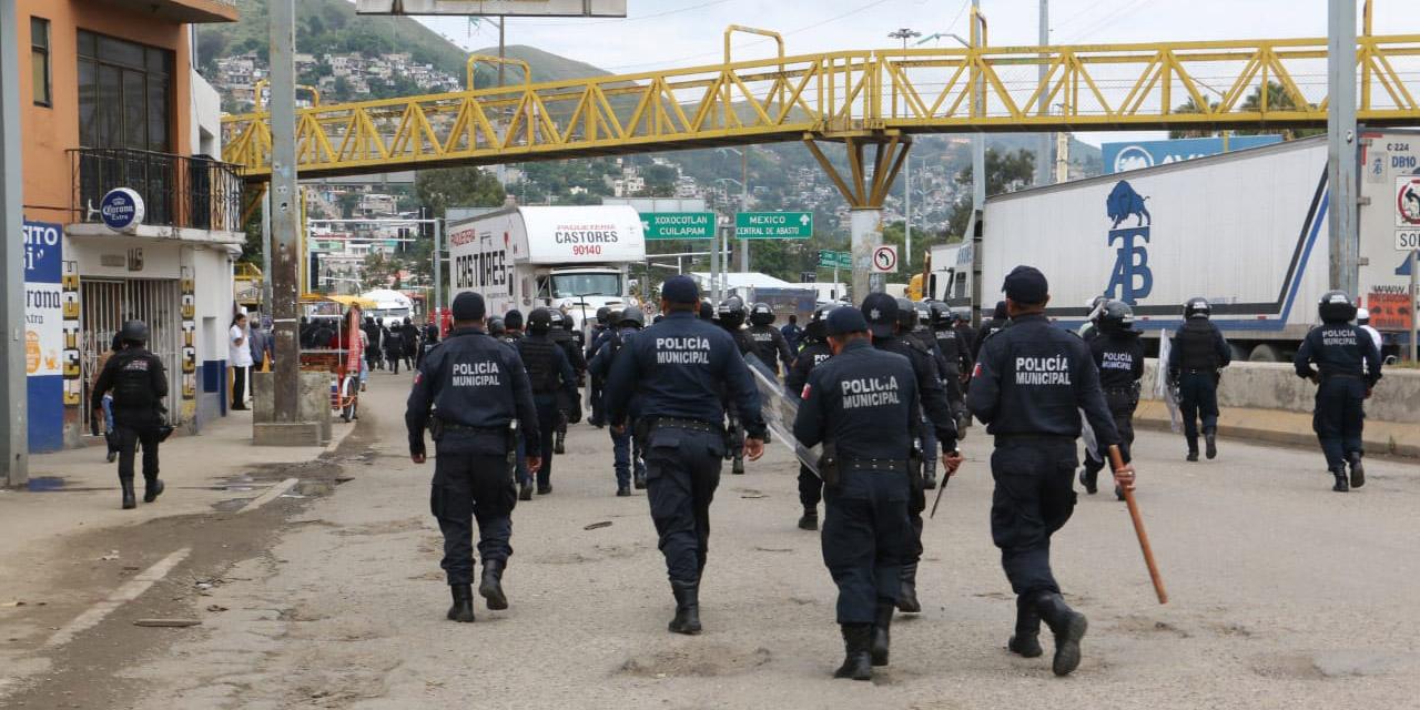 Desalojan puntos bloqueados sin contratiempos   El Imparcial de Oaxaca