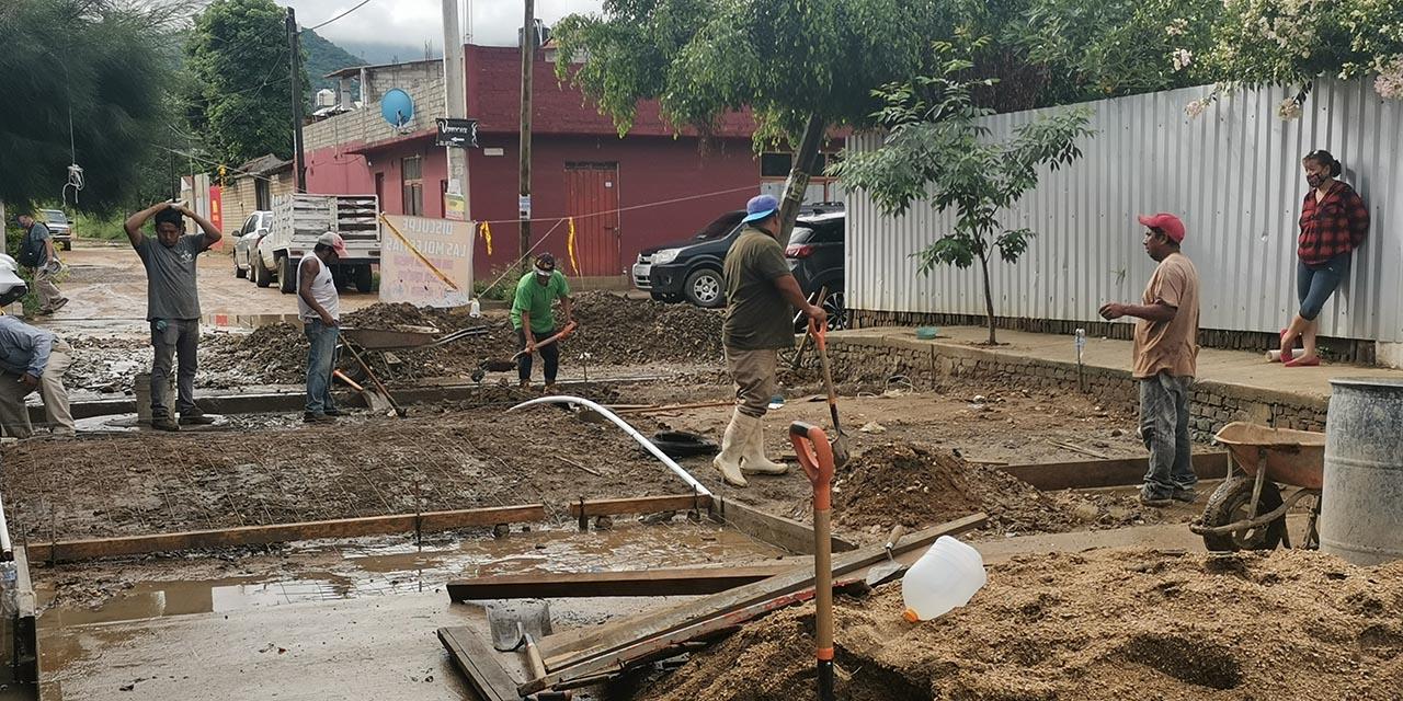 Lluvias retrasan obra pública en Santa Lucía | El Imparcial de Oaxaca