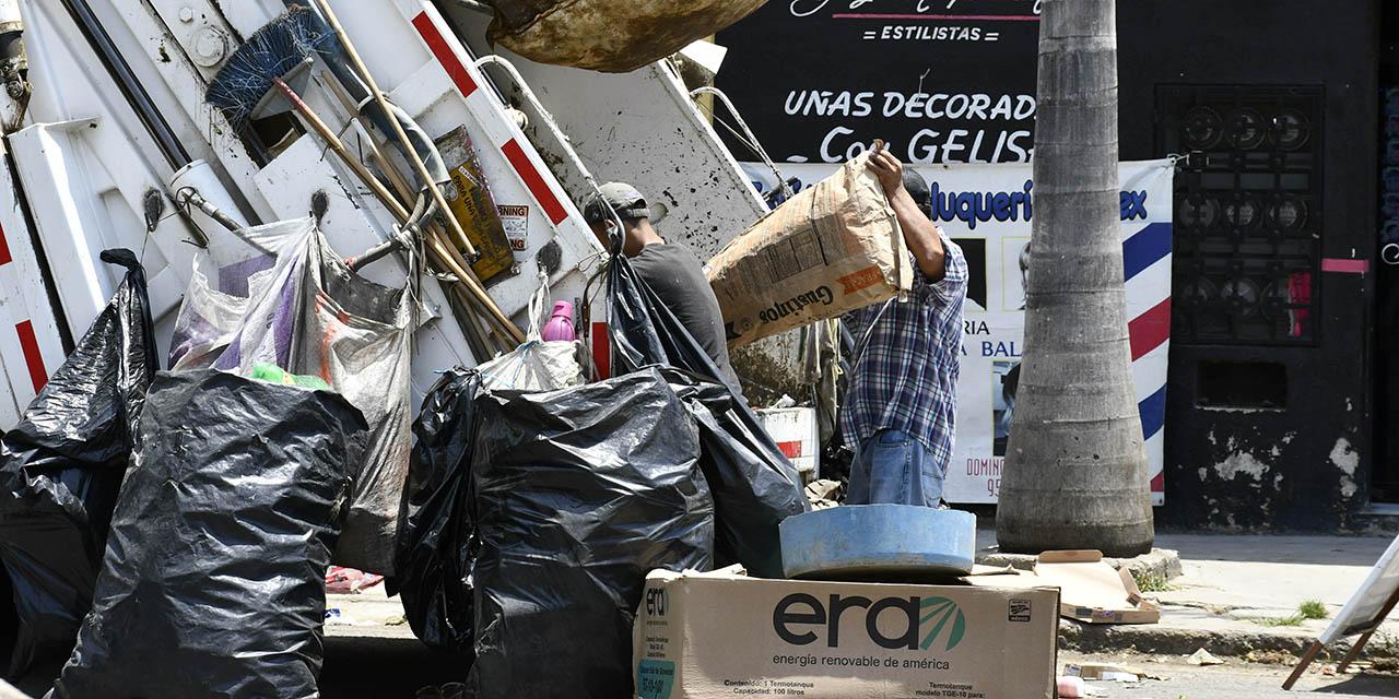 Irregular recolección de desechos en la capital oaxaqueña | El Imparcial de Oaxaca