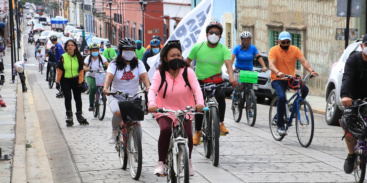 Ciclistas y patinadores exigen calles seguras y no más víctimas viales   El Imparcial de Oaxaca