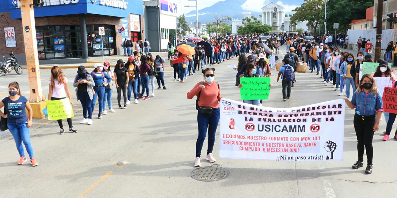 Sección 22 rechaza condición para bases | El Imparcial de Oaxaca