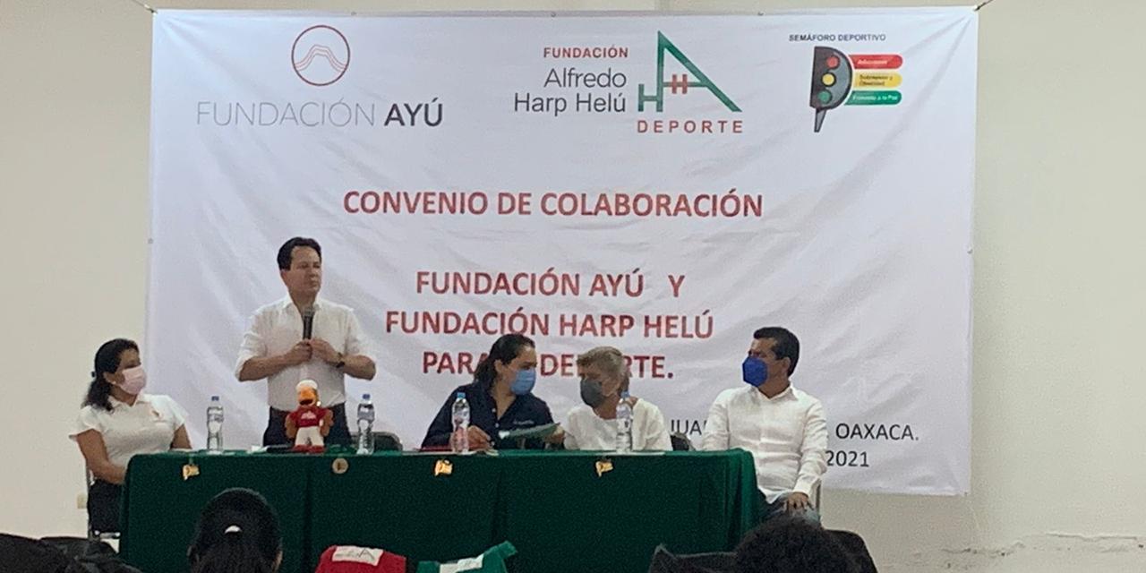 Fundaciones ayudarán en favor de actividades deportivas en la Mixteca   El Imparcial de Oaxaca